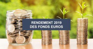 Assurance-vie : Taux de rendement 2019 des fonds euros